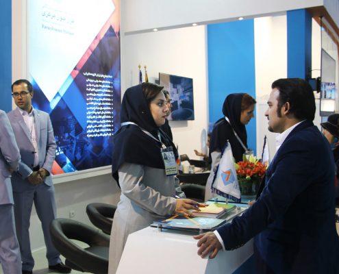 غرفه4-495x400 حضور شرکت فراز فنون در هجدهمین نمایشگاه بینالمللی تلکام
