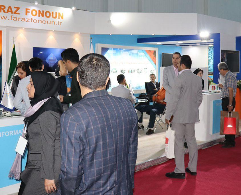 5-1-845x684 حضور شرکت فراز فنون در نوزدهمین نمایشگاه بینالمللی تلکام
