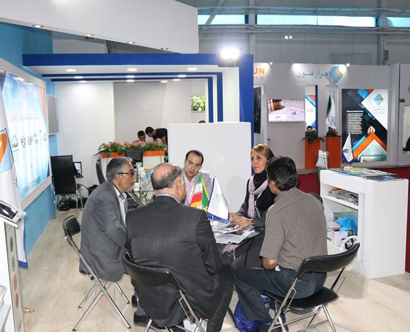 5-4-845x684 حضور شرکت فراز فنون در نوزدهمین نمایشگاه بینالمللی تلکام